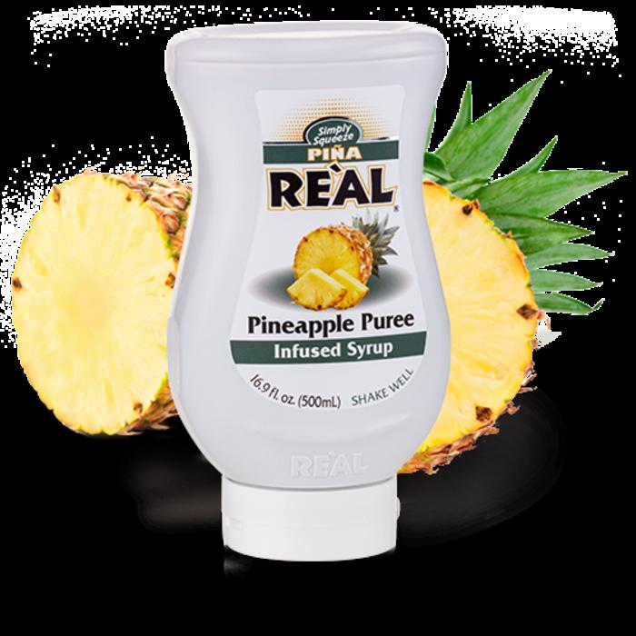 Piña Reàl Pineapple Puree, 16.9oz/500ml