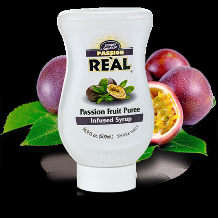 Passion Reàl Passion Fruit Puree, 16.9oz/500ml