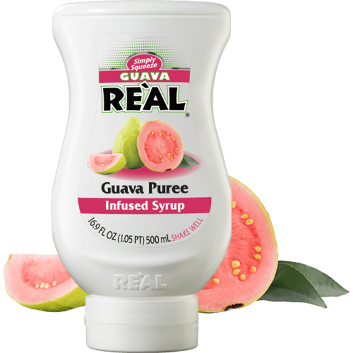 Guava Reàl Guava Puree, 16.9oz/500ml