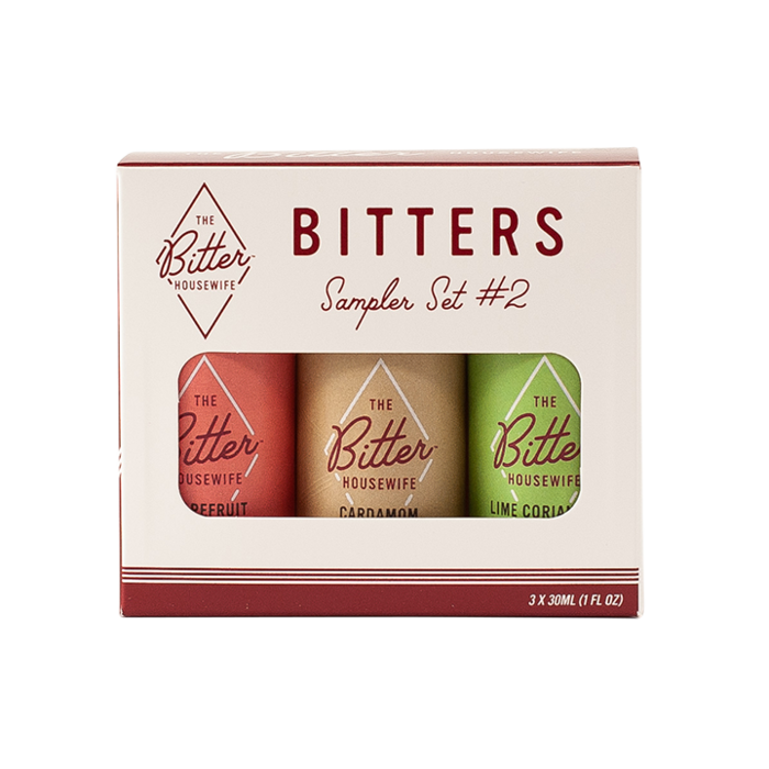 The Bitter Housewife Bitters Sampler Set #2, 3x 1oz bottles