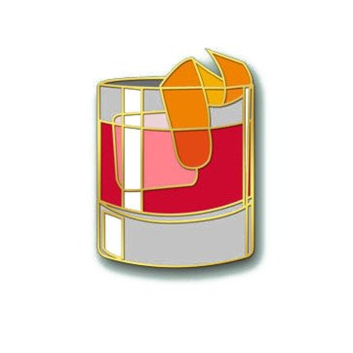 Love & Victory Negroni Pin