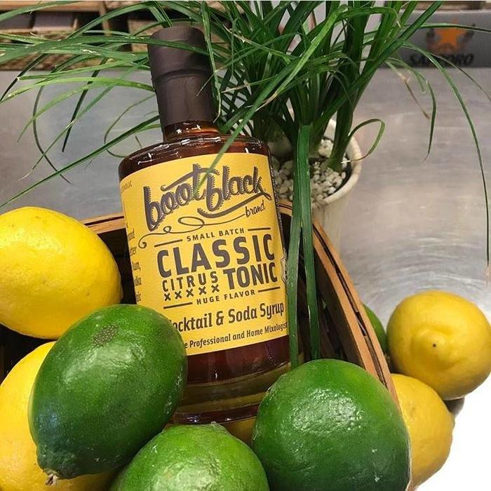 Bootblack Classic Citrus Tonic Syrup, 375ml