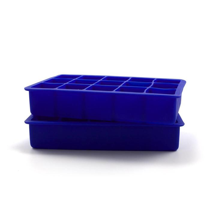 Perfect Cube Ice Trays, Blue
