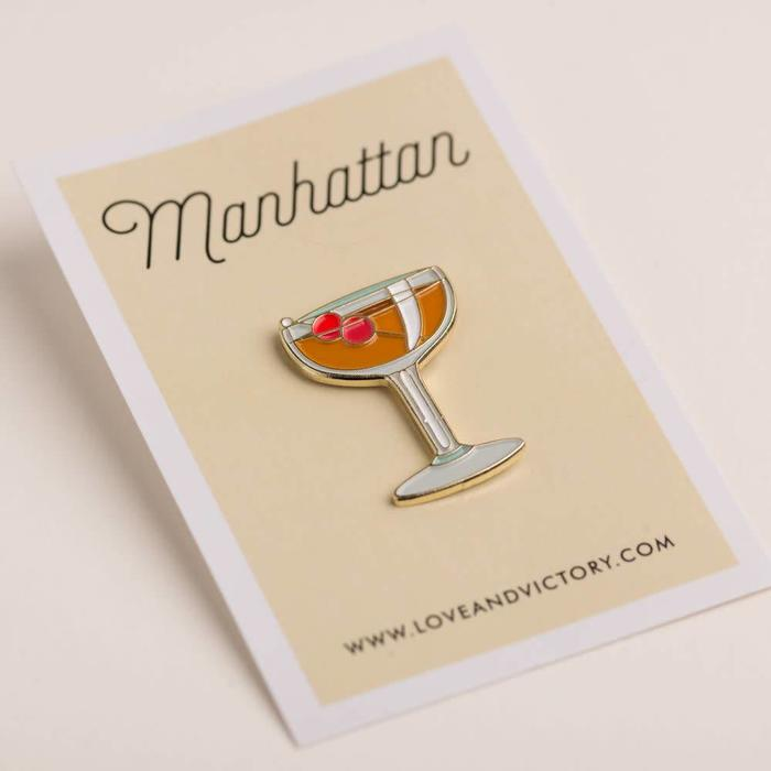 Love & Victory Manhattan Pin