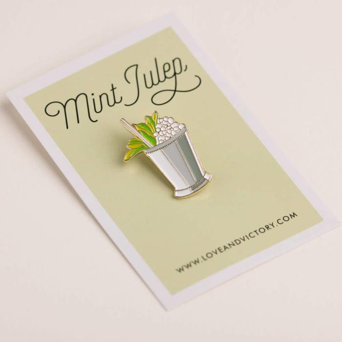 Love & Victory Mint Julep Pin