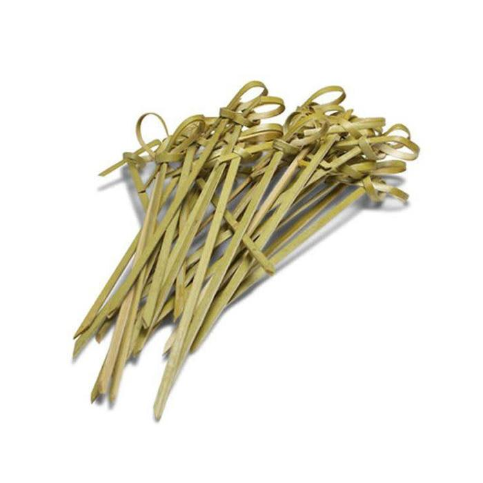 Bamboo Knot Cocktail Picks, 100 count