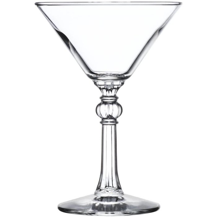 Cocktail Glass w/ decorative stem, 6 oz.