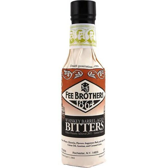 Fee Brothers Whiskey Barrel-Aged Aromatic Bitters, 5 oz.