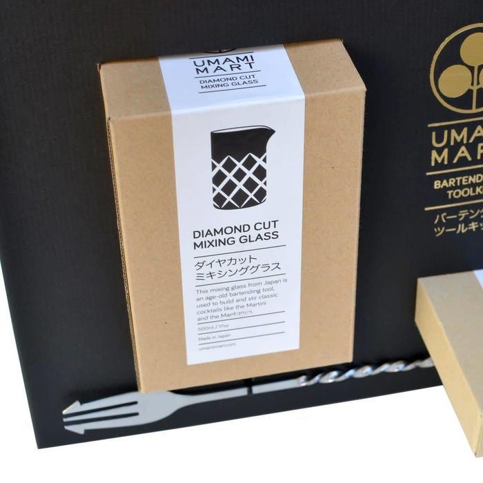 Bartenders Japanese Tool Kit, Stainless Steel
