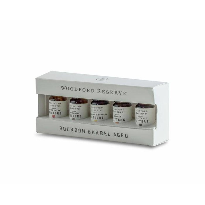 Woodford Reserve Bourbon Barrel-Aged Bitters Set, 5 10ml bottles