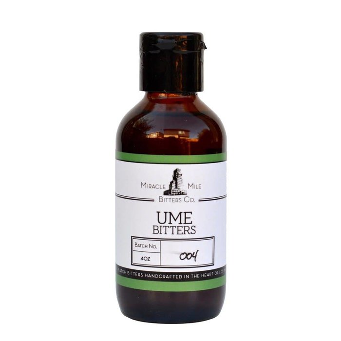 Miracle Mile Ume Bitters, 4oz