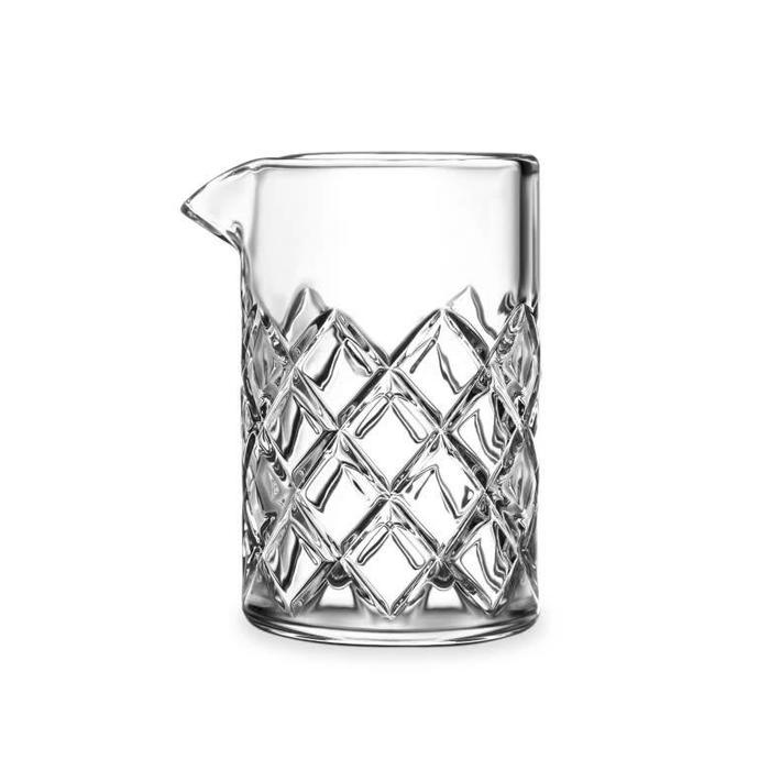 Diamond Cut Mixing Glass, 500ml
