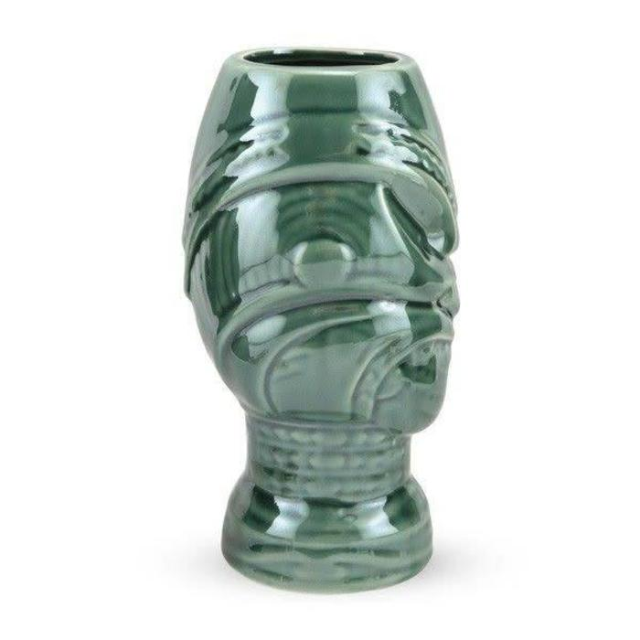 Head Hunter Tiki Mug, Green 15 oz.