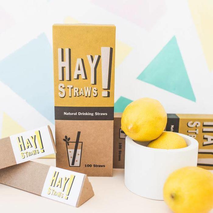 "Hay! Straws, 7.5"" 100ct"
