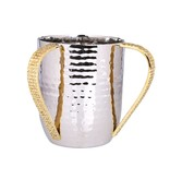 Stainless Steel Wash Cup With Mosaic Handles