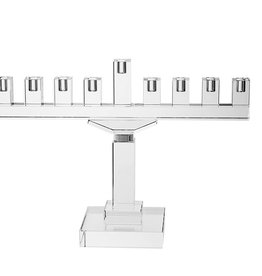 Crystal Menorah 10.5 inches