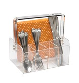 Acrylic Silverware caddy