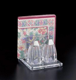 Salt & pepper shaker with napkin holder