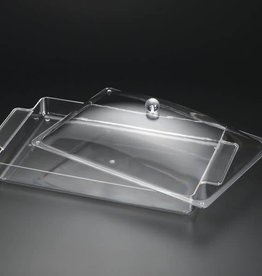 Acrylic Serving Tray with Cover