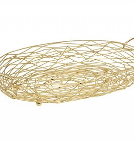 Nest Oval Baker Gold