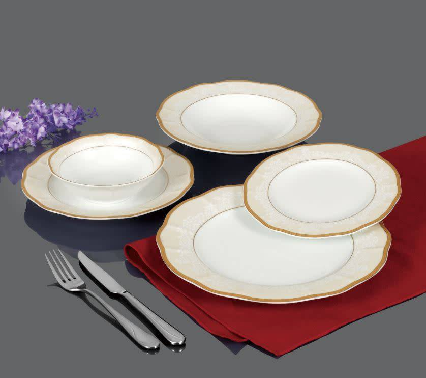 Fiorella 20 Pc Dinnerware Set