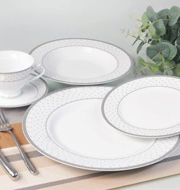 Yaffa 20 Pc Dinnerware Set