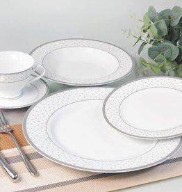 Yaffa 20 Pc Dinnerware Set