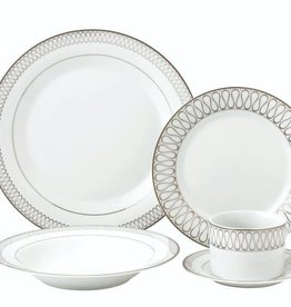 Ribbon 20 Pc Dinnerware Set