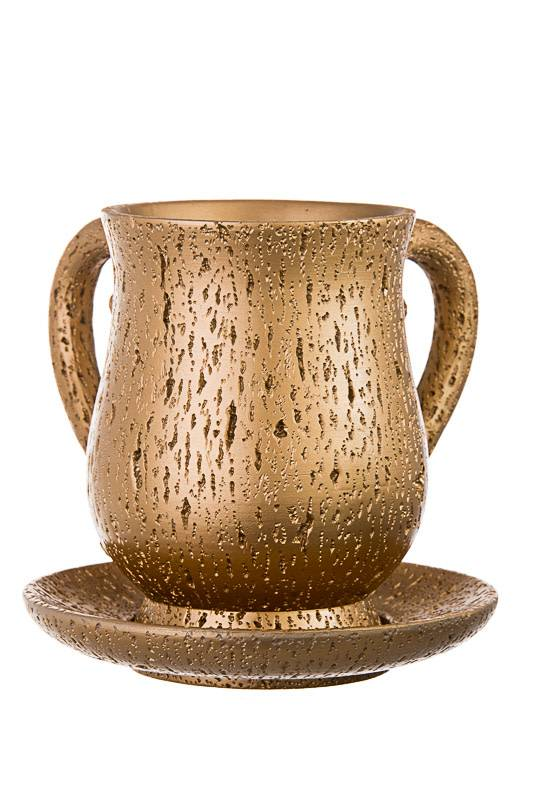 Gold washing cup with tray
