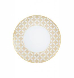 Vista Alegre Gold Exotic Bread and Butter plate