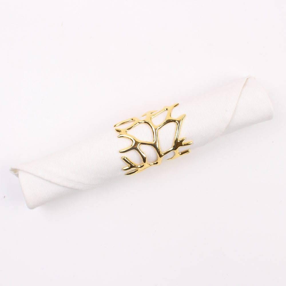Tangle Gold Napkin Ring