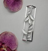 Silver Leaf Napkin Wrap