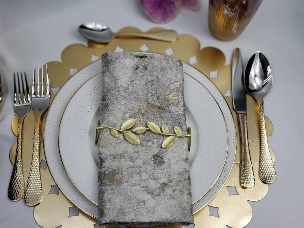 Stardust Gold Dinnerware w/ extra