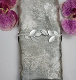Gold and Silver Marbleized Napkin