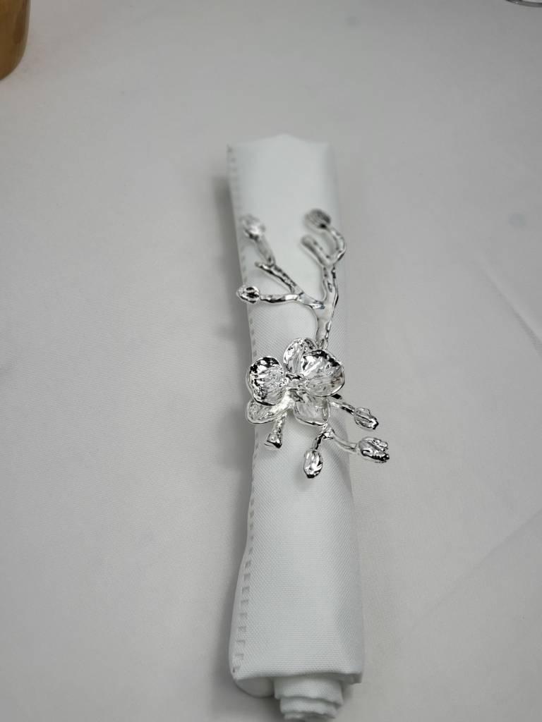 Branch Vine Silver Napkin Ring