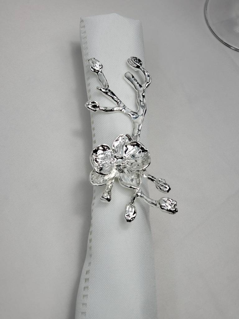 Branch Vine Silver Napkin Ring