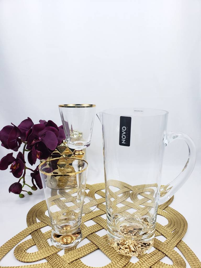 Square Gold Mesh Placemat