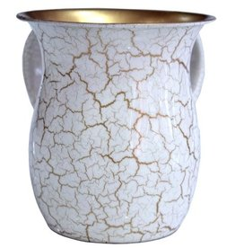 Cracked Gold Washing Cup