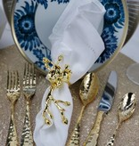 Lilah Gold 20pc Flatware