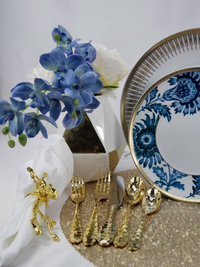 Vista Alegre Gold Exotic Dinner plate