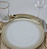Vista Alegre Gold Exotic Dinner plate