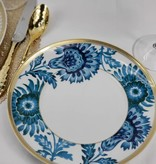 Vista Alegre Gold Exotic Salad plate