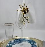 Godinger Gold Banded Highball Glasses s/4