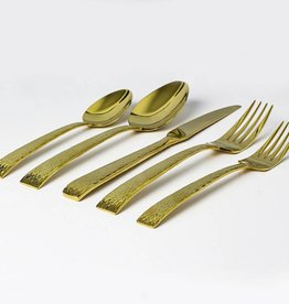 Mali Gold 20 pc Flatware Set