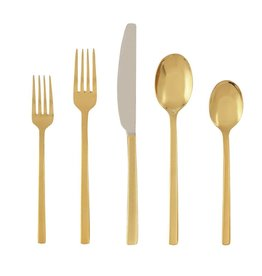 Beacon gold 20 pc flatware set