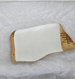 12 x 8 Gold Hammered tray