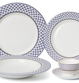 Villa Azure 20 pc Dinnerware Set