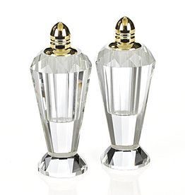 "4"" Gold Salt and Pepper Shakers"