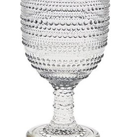 Pearls Clear Goblet s/4