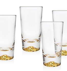 Godinger Sierra Gold 4oz Seder Glasses
